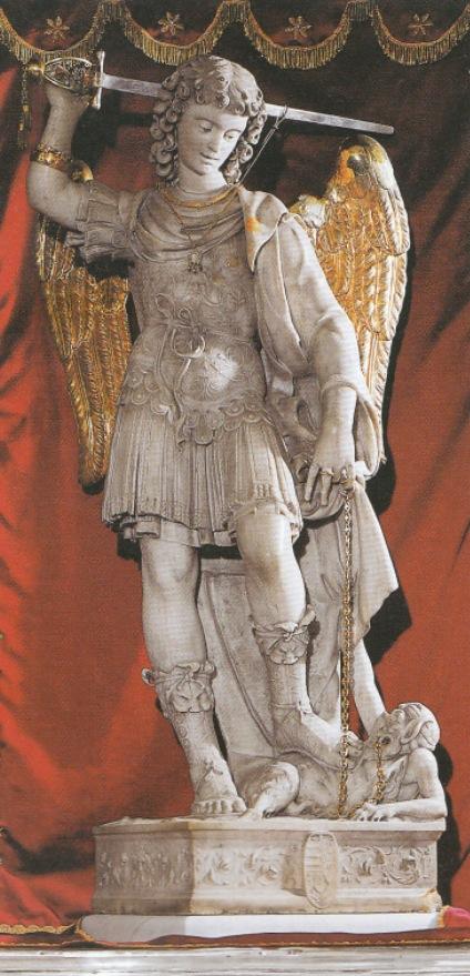 Aparição De São Miguel Arcanjo No Monte Gargano Itália Sec V