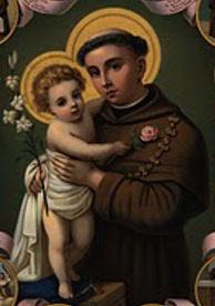 Santo Antônio - Iconografia eivada de sentimentalismo